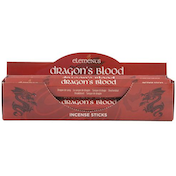 6 Packs of Elements Dragon's Blood Incense Sticks