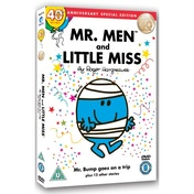 Mr Men & Little Miss Mr Bump goes on a trip And Twelve Other Enchanting Stories DVD