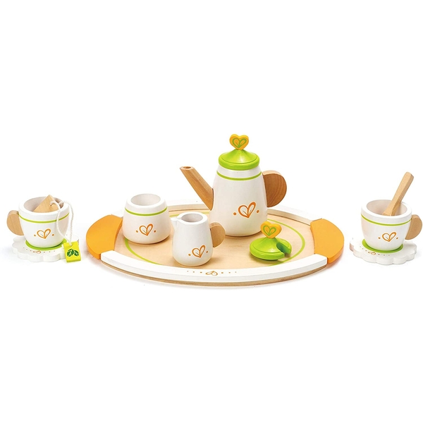 Hape Tea Set for Two Wooden Playset