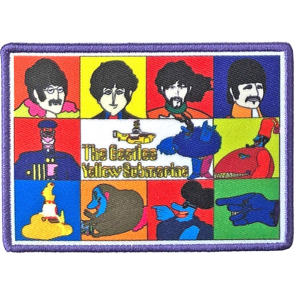 The Beatles - Yellow Submarine Characters Standard Patch