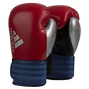 Adidas Hybrid 75 Boxing Gloves  Red/Blue - 12oz