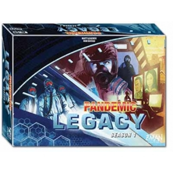 Pandemic Legacy Season 1 Blue Edition Board Game - Image 1