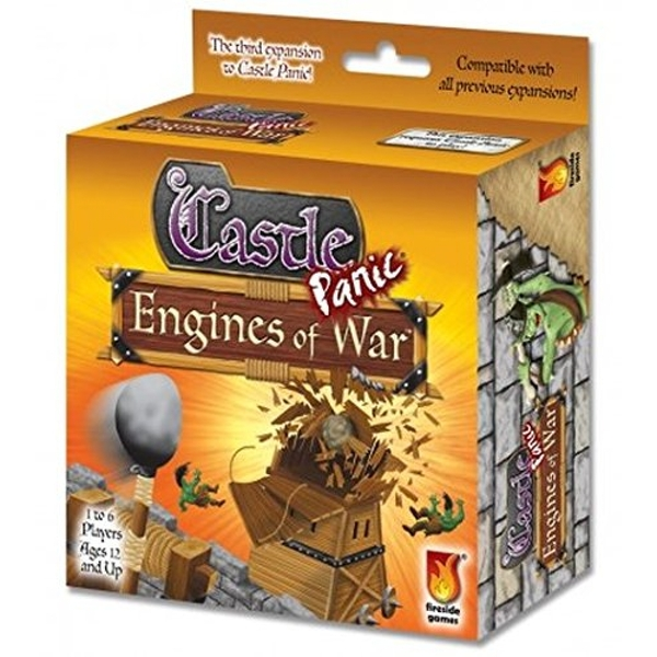 Castle Panic Engines of War Board Game