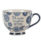 Sass & Belle Blue Willow Floral Mug
