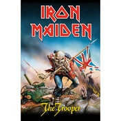 Iron Maiden - The Trooper Textile Poster
