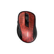 Rapoo M500 Silent Multi-mode Wireless Optical Mouse Red