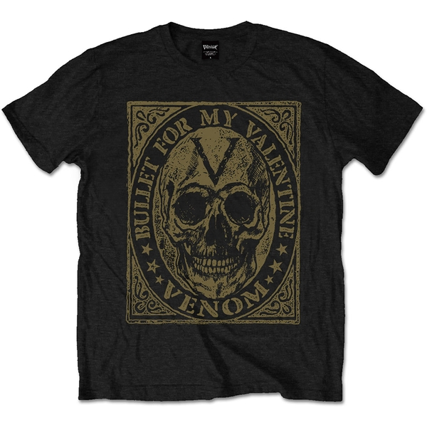 Bullet For My Valentine - Venom Skull Unisex XX-Large T-Shirt - Black