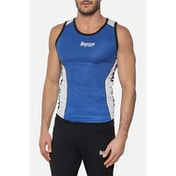 Slinky Boxing Tank With Side Mesh Insert Size XL (Blue)