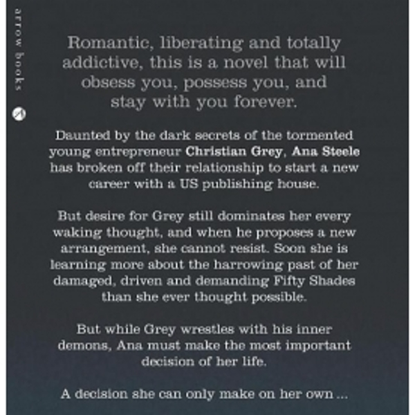 Fifty Shades Darker Audio Book CD - Image 2