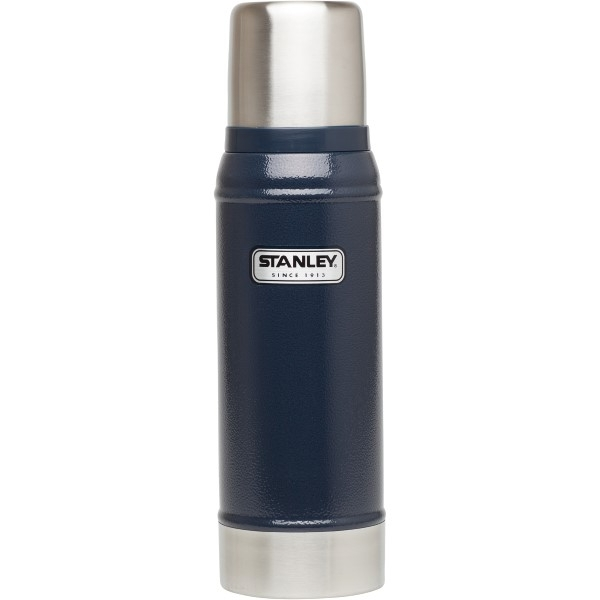 Ex-Display Stanley Classic Vacuum Insulated Bottle 750ml - Navy Blue Used - Like New