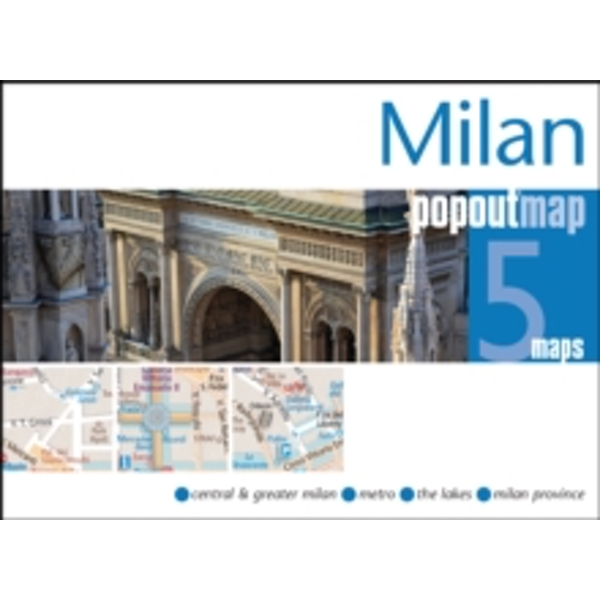 Milan Popout Map