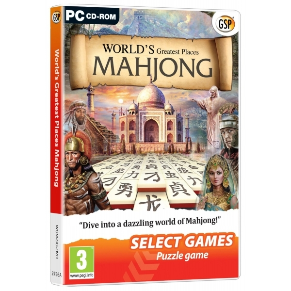 Worlds Greatest Places Mahjong (Select Games) Game PC
