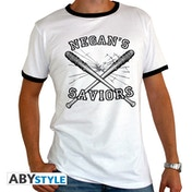 The Walking Dead - Negan's Saviors Men's Small T-Shirt - White