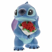 Ex-Display Stitch Flowers (Lilo & Stitch) Figurine Used - Like New