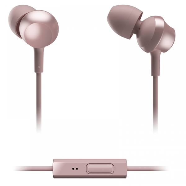 Panasonic RPTCM360EP In-Ear Headphones wiht Remote & Mic Rose Gold