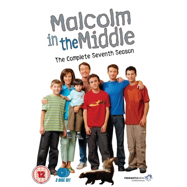 Malcolm In The Middle Season 7 DVD