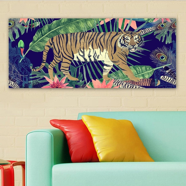 YTY669635011_50120 Multicolor Decorative Canvas Painting