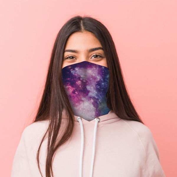 Star Gazing Starry Night Neck Scarf Face Covering