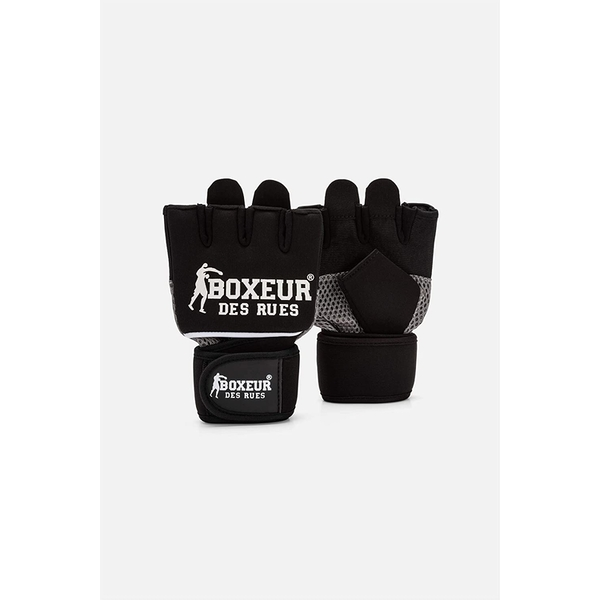 Fit Boxing Gloves With Mesh Inserts Size S-M (Black)