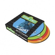 Sesame Street Round Coasters in a Sleeve set of 4