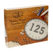 House of Crafts Mosaic House Number Craft Kit