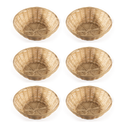 Willow Bread Baskets - Set of 6 | M&W
