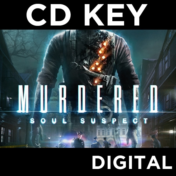 Murdered Soul Suspect PC CD Key Download for Steam - Image 1