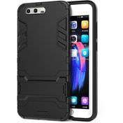 Caseflex Huawei Honor 9 Armour Kickstand Case - Black
