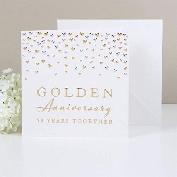 AMORE BY JULIANA? Deluxe Card - Golden Anniversary