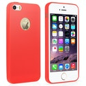 YouSave Accessories iPhone 5 / 5s Ultra Thin Gel Case - Red