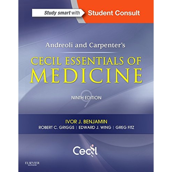 Andreoli and Carpenter's Cecil Essentials of Medicine by Ivor Benjamin (Paperback, 2015)