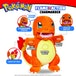 Pokemon Flame Action Charmander Plush - Image 2