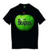 The Beatles Apple Mens Black T Shirt: X Large