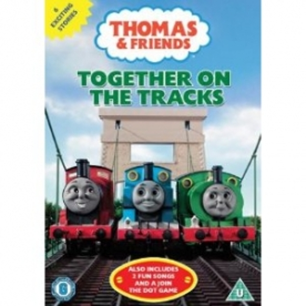 Thomas & Friends Together On The Tracks DVD