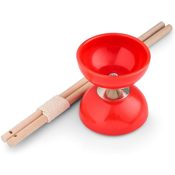 Diabolo Juggling Toy (Red)