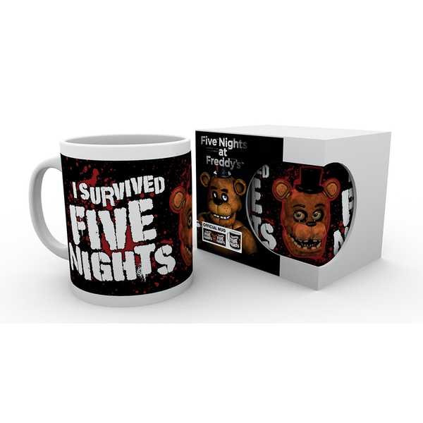 Five Nights at Freddys I Survived Mug