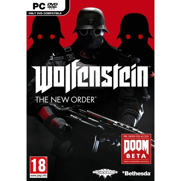 Wolfenstein The New Order PC Game (Boxed and Digital Code)