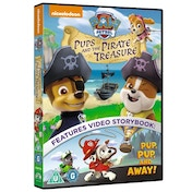 Paw Patrol: Pups And The Pirate Treasure DVD