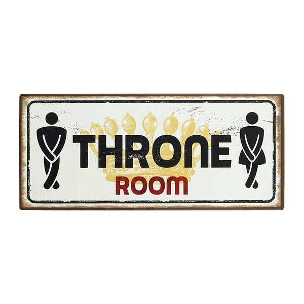 Throne Room Sign by Heaven Sends