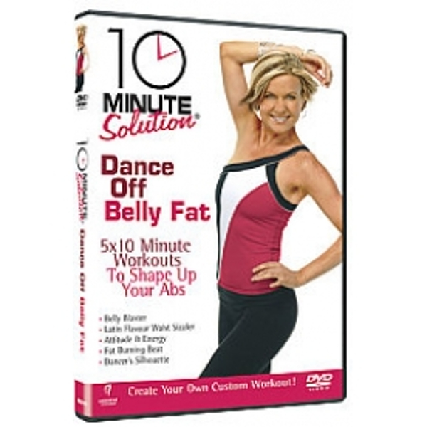 10 Minute Solution Dance Off Belly Fat DVD