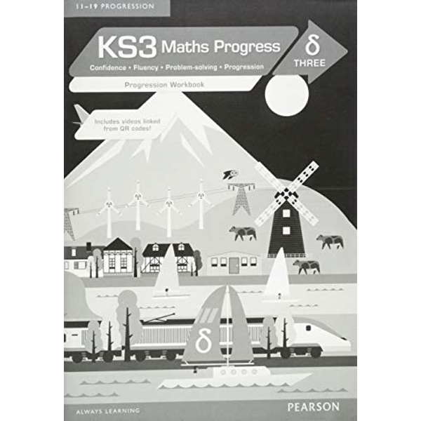 KS3 Maths Progress Progression Workbook Delta 3 by Pearson Education Limited (Paperback, 2015)