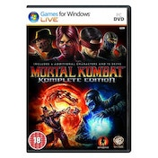 Mortal Kombat Komplete (Complete) Edition Game PC