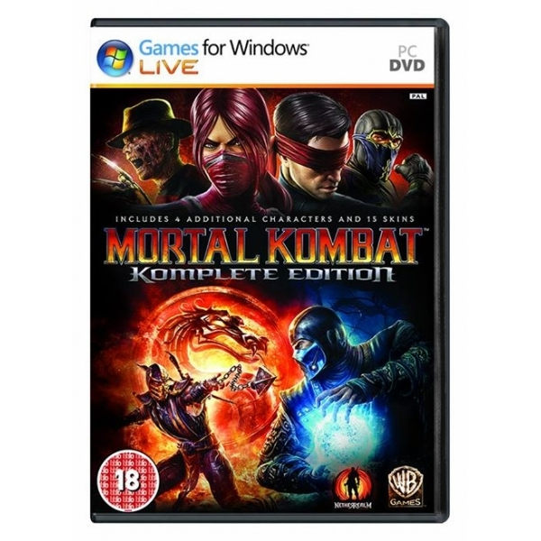 Mortal Kombat Komplete (Complete) Edition Game PC - Image 1