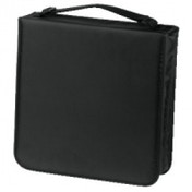 Hama CD Wallet Nylon 208, Black - 00033835
