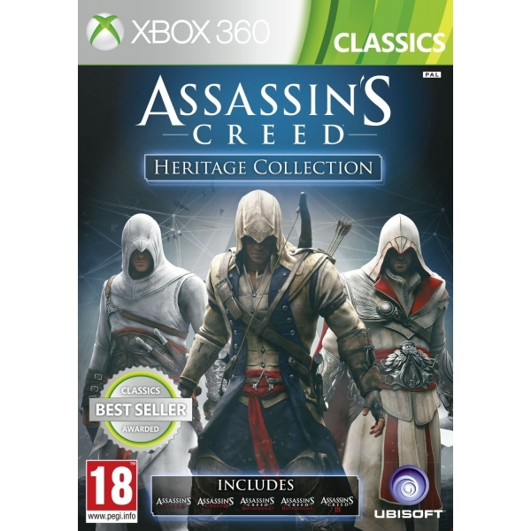 Assassin's Creed Heritage Collection (Includes All Five Games) Classics Xbox 360 Game