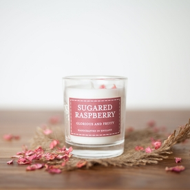 Sugared Raspberry (Pastel Collection) Votive Candle