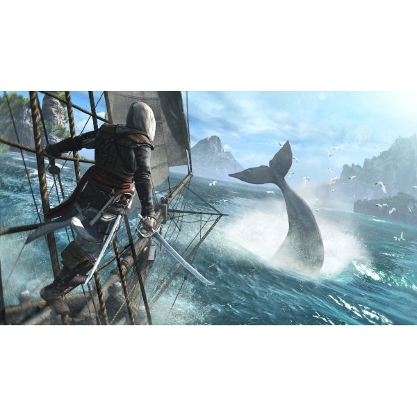 Assassin's Creed IV 4 Black Flag Skull Edition PS3 Game - Image 7