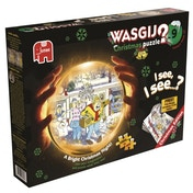 Wasgij Christmas 9 A Bright Christmas Night 1000 Piece Jigsaw Puzzle