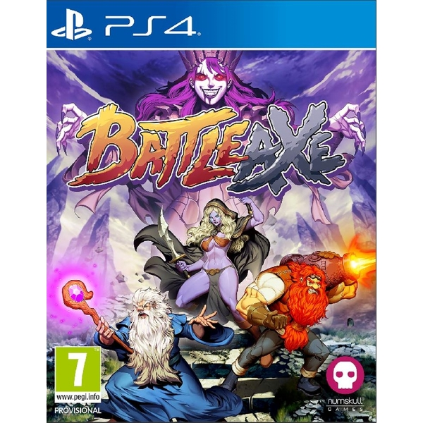 Battle Axe Badge Edition PS4 Game