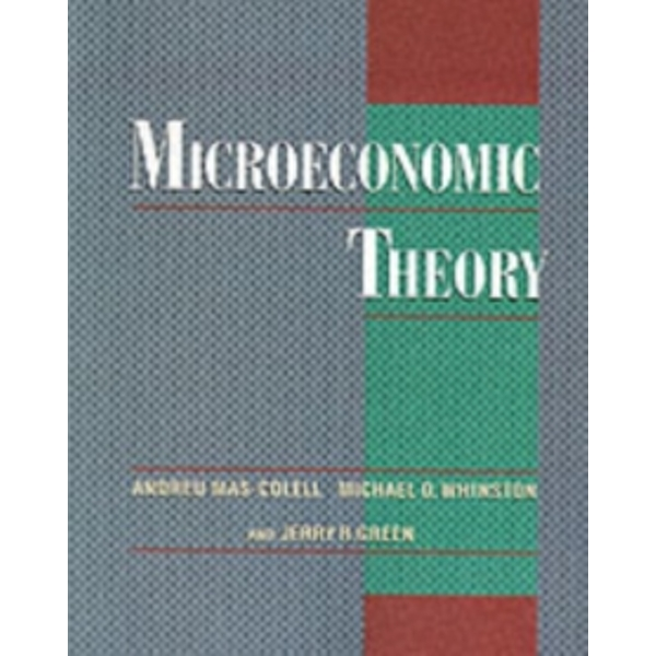 Microeconomic Theory by Andreu Mas-Colell (Paperback, 1995)